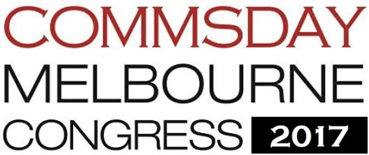 CommsDay Melbourne Congress - 2017